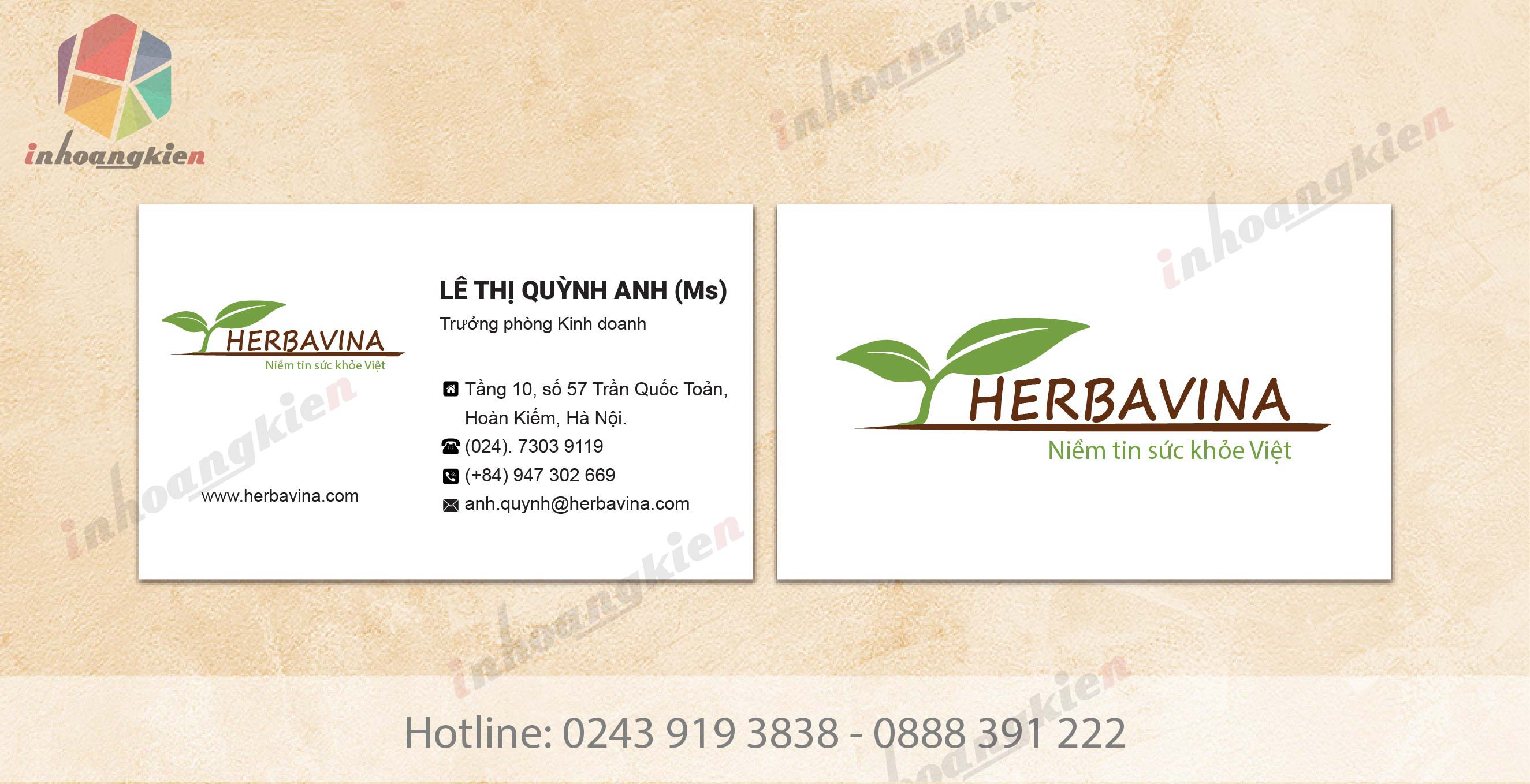 in card visit, name card