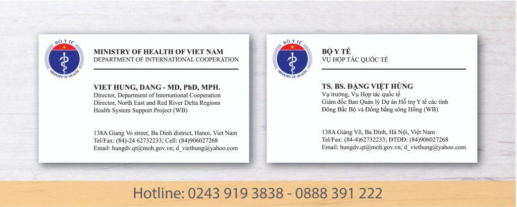 Card Bộ y tế