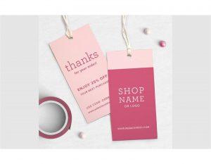 Báo giá tag mác quần áo – Tag treo sản phẩm – Tag khuyên tai